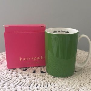 Kate Spade Lenox Live Colorfully Mug
